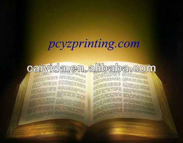 China experienced holy bible book publishers provide free sample