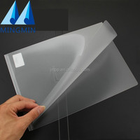 New product wholesale document holder custom a4 size L shape clear pp plastic file folder