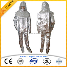 Radiation Resistant 1000 C Degree Resisting Heat Resist Fireman Suit