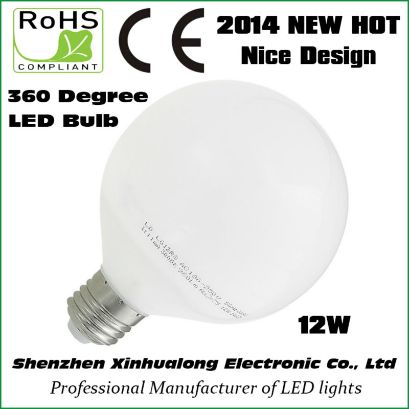 2014 New Design Hot Selling 360 Degree 12W led Bulb Light led lamppu