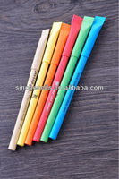 high quality color paper ballpoint pen with paper cap