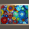 Handmade Oil Abstract Canvas Decor Painting on Sale