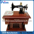 Retro Sewing Machine Clockwork music box