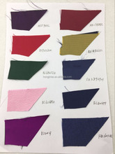 Best popular solid woven 100% silk fabric for tie