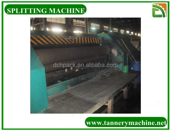 heavy leather splitter machine