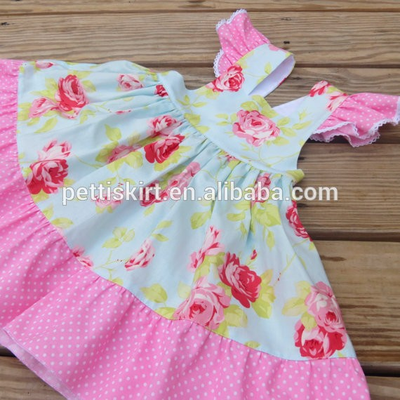 Beautiful chidren summer clothes cheap cotton fabric baby for Cheap baby fabric