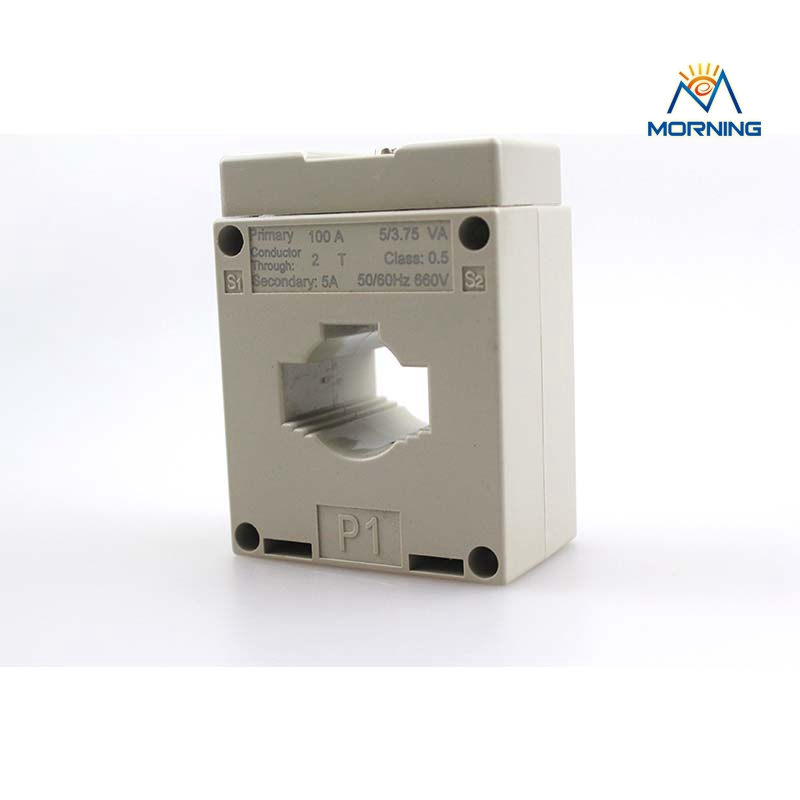 Class 0.5 high accuracy low voltage white current transformer