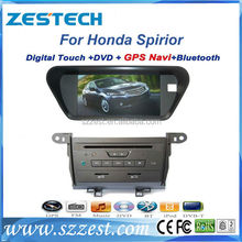 "ZESTECH 8"" car dvd gps navigation for Honda Spirior car dvd gps navigation system with dvd player radio"