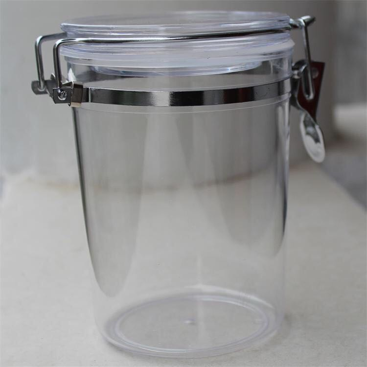 Cheap Wholesale Food storage Round bottom food plastic clear jar food jar