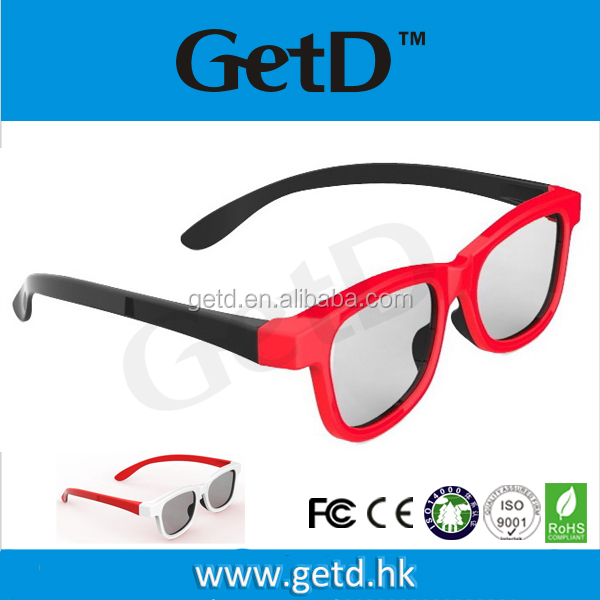 Hottest! 3d glasses circularly polarized