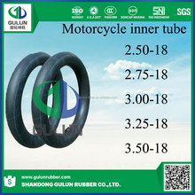 Super quality best selling brand chinese inner tube for motorcycle 2.50-18 2.75-18 3.00-18 3.25-18 3.3530-18