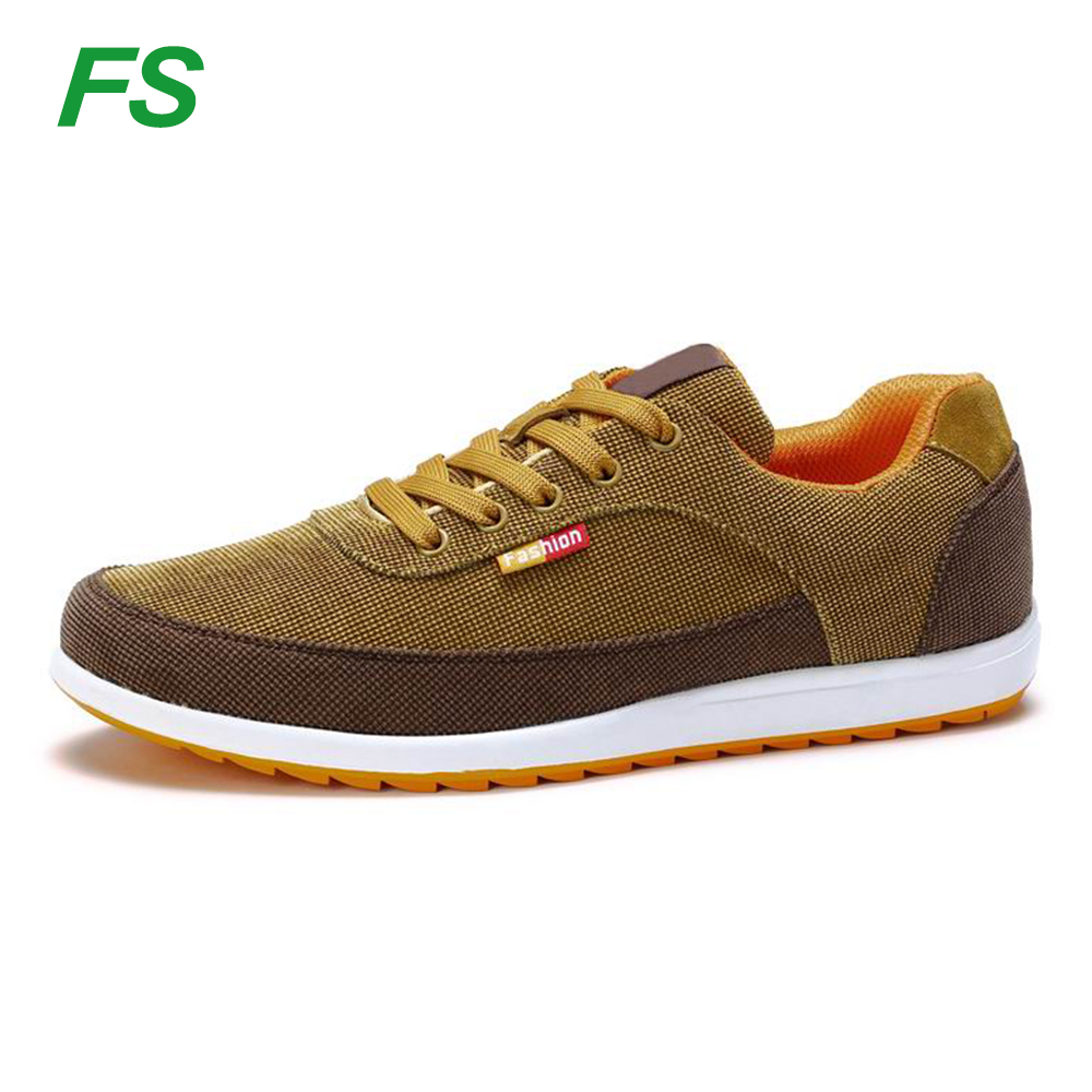 2017 Wholesale New model fashion mens canvas casual shoes