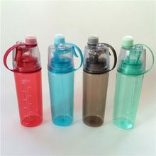 600ml Sport Spray Water Bottle BPA Free Sport Tumbler Plastic Bottles Moisturizing and Hairdressing Beauty Tools 2017 New
