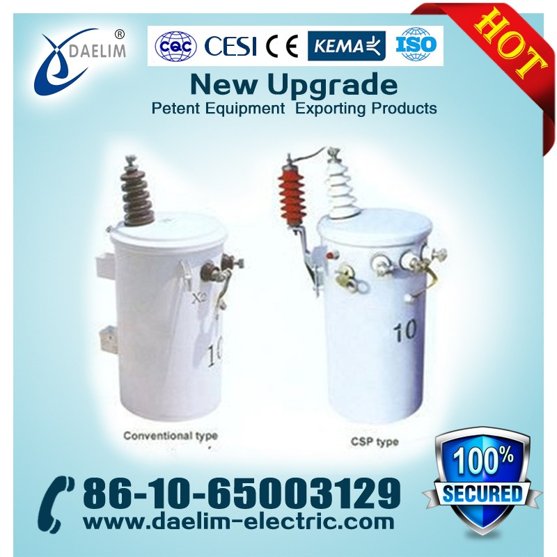 Price of Single-Phase 6kv 50kva Oil Immersed Electric Power Transformer