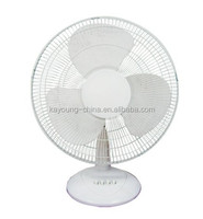 16 inch high quality high speed cheap price electric plastic table fan / desk fan with 3 speed UL certificate