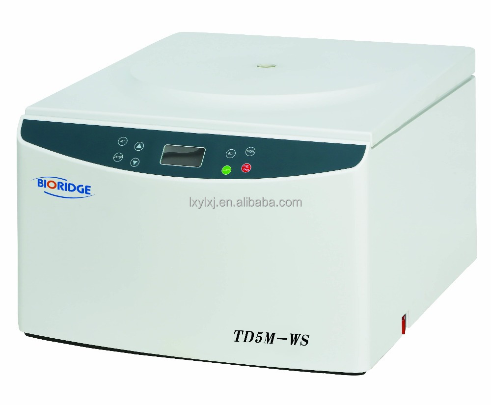 TD5M-WS Low Speed Tabletop Centrifuge 5000rpm,7ml~500ml