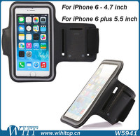 For iPhone 6 Sport Armband, Neoprene Running Armband for iPhone 6
