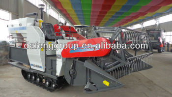 small grain tank rice harvester