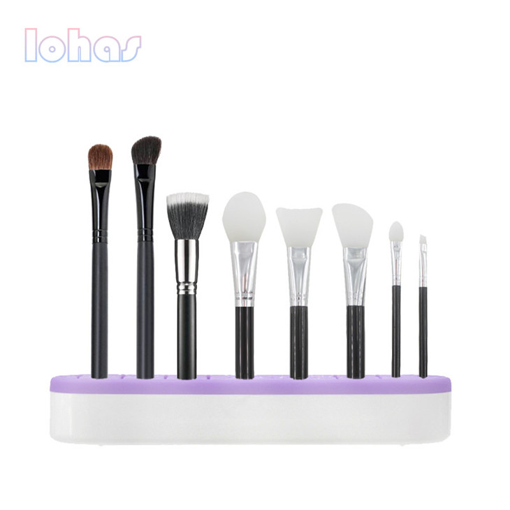 professional makeup brush holder