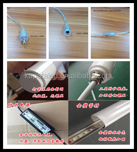 Hot Sale Led Tube T8, SMD2835 T8 Led Tube,600mm.1200mm.1500mm Ce Rohs Approved Led T8 Tube freezer Lighting in China