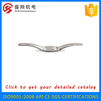 Stainless steel rope cleat for ship