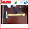 45# carbon steel forged American type Claw Hammer with wooden handle
