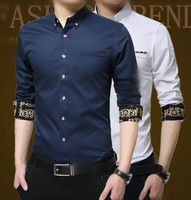 z10086a men dress cotton latest shirt designs for men hot sale men clothing