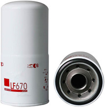 Diesel Engine Parts For Lubrication System LF670 Lube Oil Filter