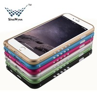 Universal Aluminum Bumper Case for iPhone 6 ,TPU and Aluminum Bumper Case