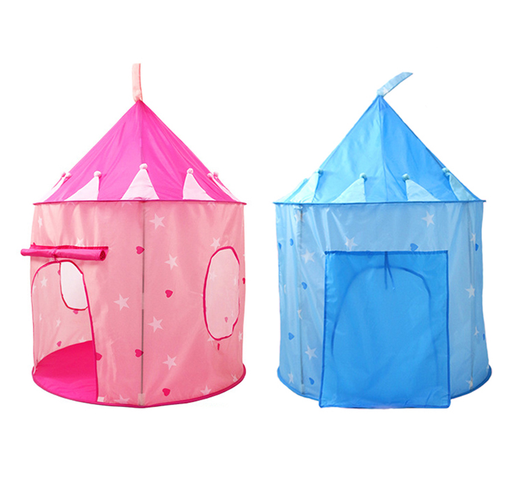 Princess Castle Pink  Blue Kids Play House Kids Play Tent