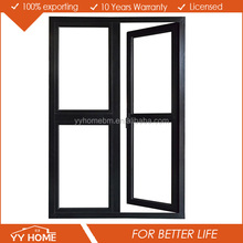 YY Home hot sale double glass aluminium soundproof used exterior french doors for sale