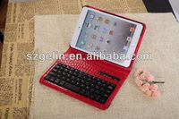 2013 crocodile pattern rubber folding bluetooth keyboard for ipad2