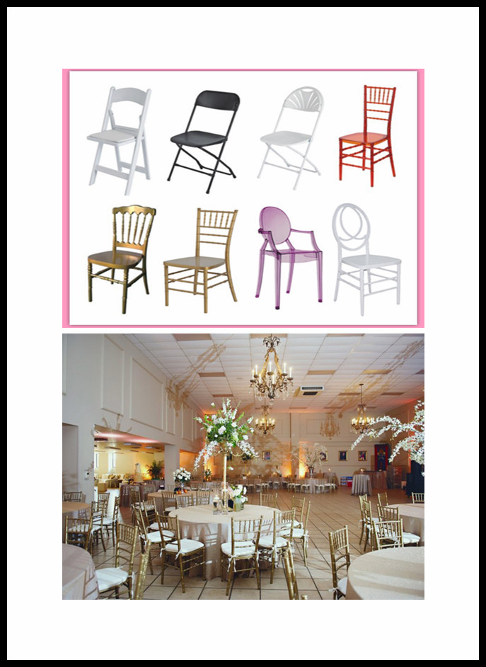 wholesale wedding and event chairs