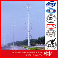 Promotional Electric Transmission Line Steel Tube Tower for Sale