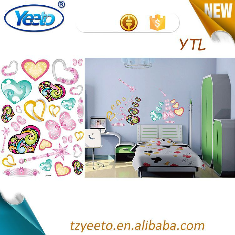 DIY Lovely Cartoon Removable Vinyl Wall Decal Stickers Kids Room Art Home Decor