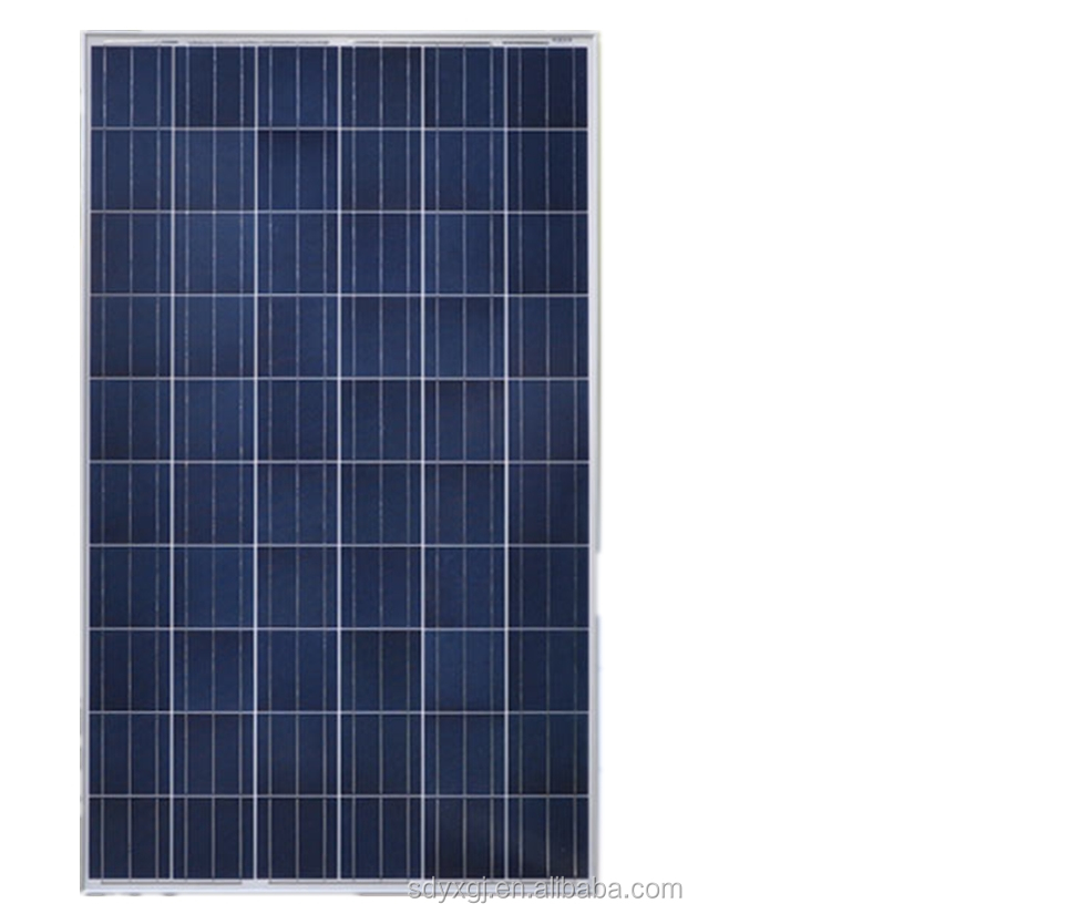 Poly-crystalline photo-voltaic solar panel 245-260W