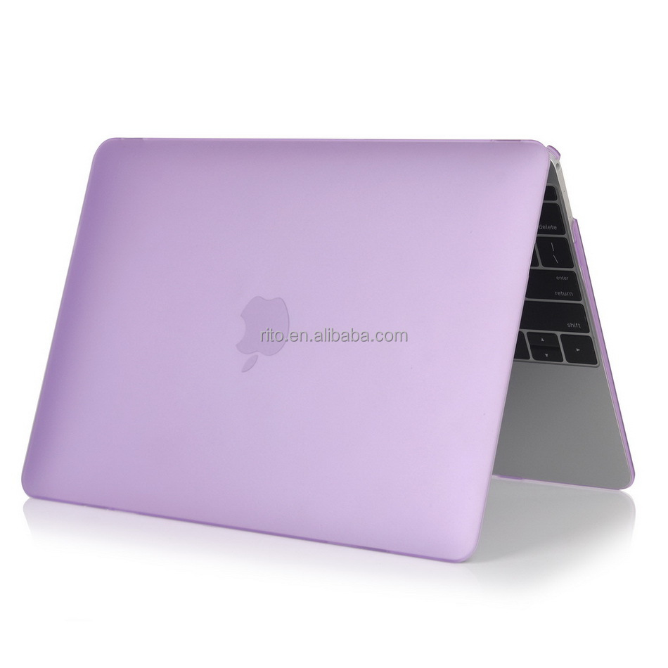 Purple Laptop Hard Case for Macbook Air 13 inch, Plastic Hard Shell for Apple Mac Book, Shenzhen Factory