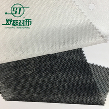 Manufacturer Wholesale 100% polyester warp knitted interlining fabric for garment
