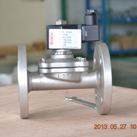 brass direct acting solenoid valve for natural gas