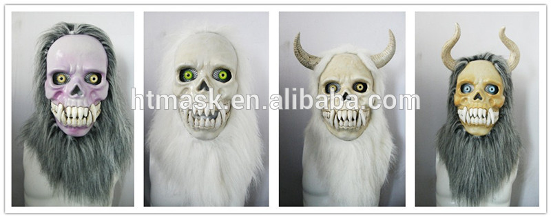 Moving Mouth Person Mask for Holloween Party - Demon001