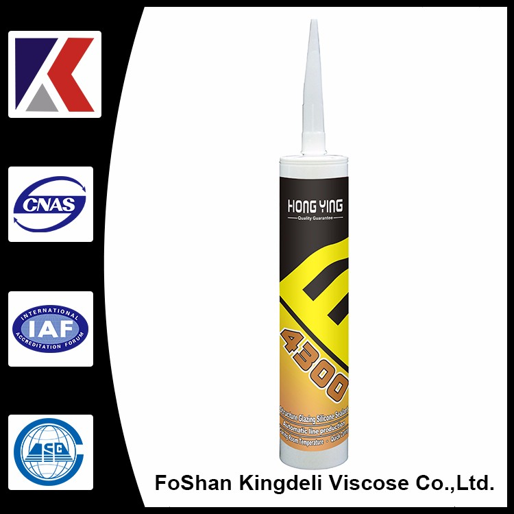 Foshan curtain wall structural sealant brown, black, clear