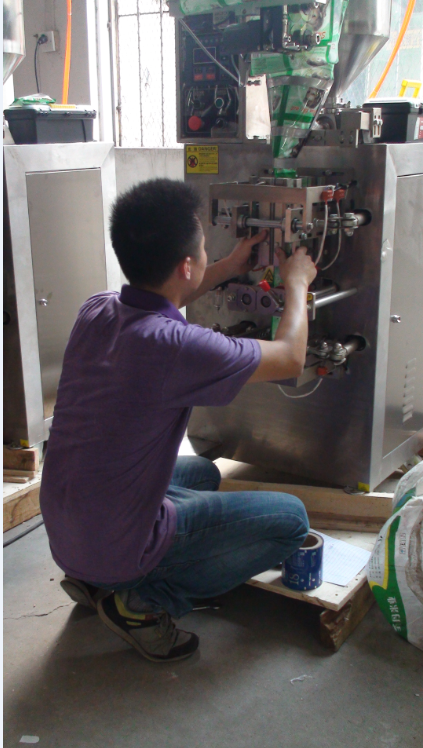 Automatic screw counting packing machine