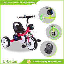 2017 three wheels, plastic kids tricycle bike with good quality