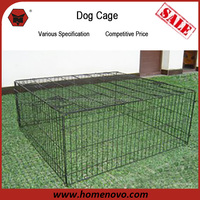 High Quality Indoor Outdoor Application Durable Anti-rust108x100x46cm Steel Large Dog Kennel
