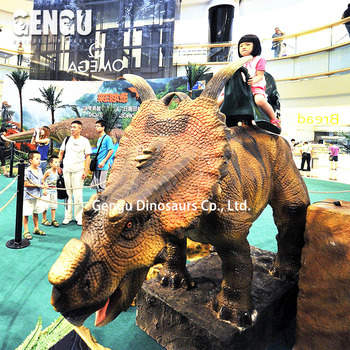 Amusement Park Ride Animatronic Dinosaur For Sale