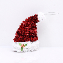 New design christmas tree ornament parts hot toys hat 2017 HD-18SDGJ-AE-mz