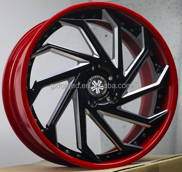 2 piece custom forged rims for 17