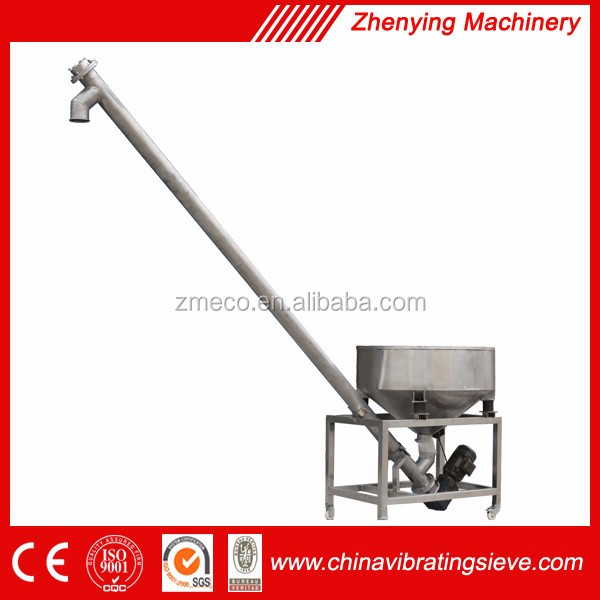 High speed cabon steel screw conveyor for PVC powder product