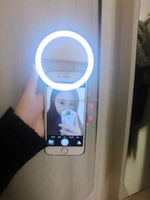 Portable Selfie LED Phone Camera rechargable Ring Light For All IPhone