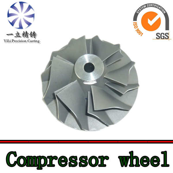 turbo compressor wheel